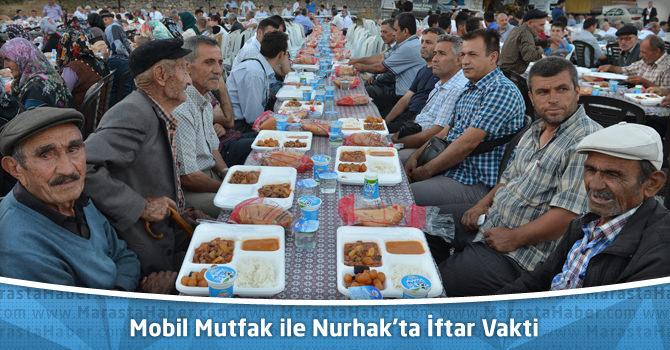 Mobil Mutfak ile Nurhak'ta İftar Vakti