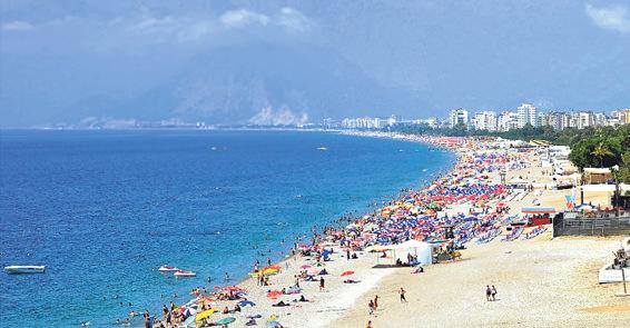 Antalya Sahillerinden için Konyaaltı Plajı Kullanma Kılavuzu Yayınlandı