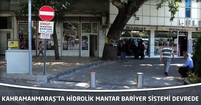 Kahramanmaraş'ta Hidrolik Mantar Bariyer Sistemi Devrede