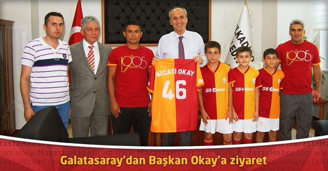 Galatasaray'dan Başkan Okay'a ziyaret