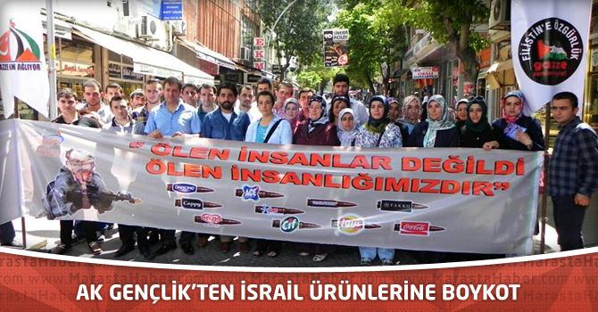 AK Gençlik'ten İsrail Ürünlerine Boykot