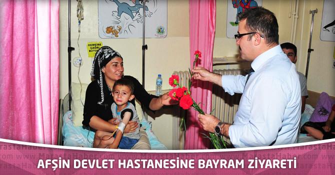 Afşin Devlet Hastanesine Bayram Ziyareti