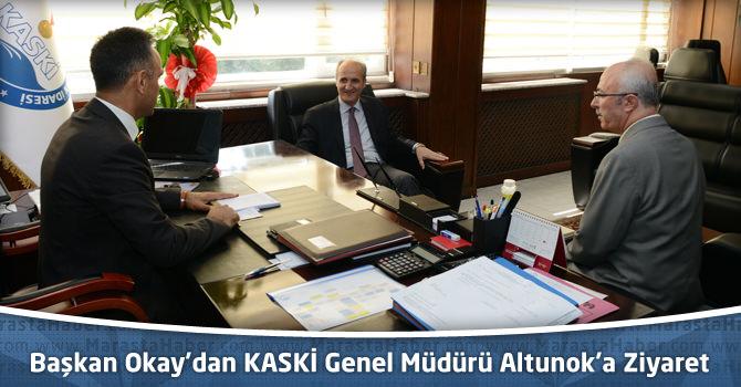 Başkan Okay'dan KASKİ Genel Müdürü Altunok'a Ziyaret
