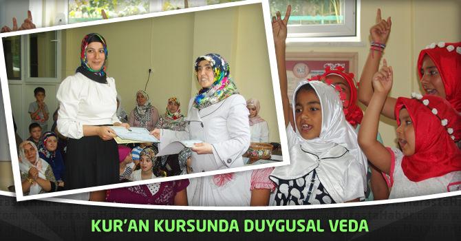 Kur'an Kursunda Duygusal Veda