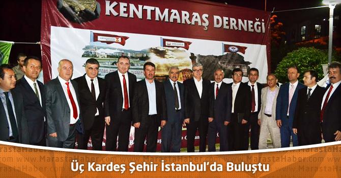 Üç Kardeş Şehir Buluşması İstanbul'da Gerçekleşti