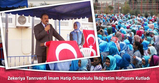 Zekeriya Tanrıverdi İmam Hatip Ortaokulu İlköğretim Haftasını Kutladı