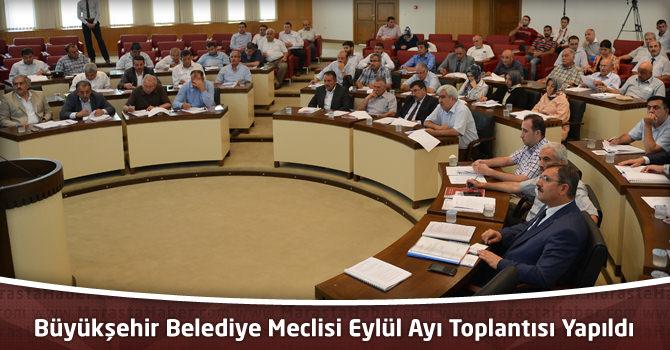 Kahramanmaraş Büyükşehir Belediye Meclisi Eylül Ayı Toplantısı Yapıldı