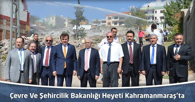 Çevre Ve Şehircilik Bakanlığı Heyeti Kahramanmaraş'ta