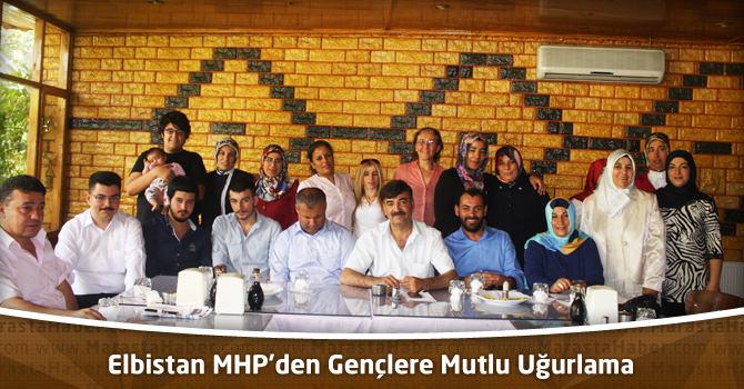 Elbistan MHP'den Gençlere Mutlu Uğurlama