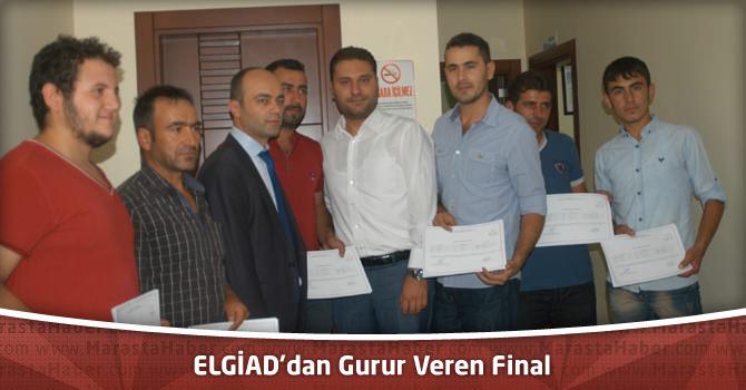 ELGİAD'dan Gurur Veren Final