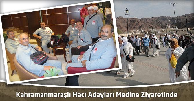 Kahramanmaraşlı Hacı Adayları Medine Ziyaretine Devam Ediyor