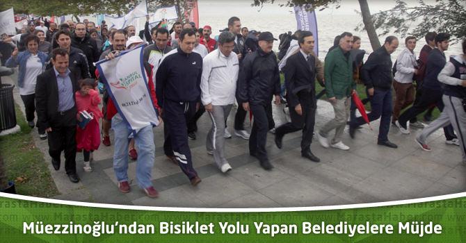 Bakan Müezzinoğlu'ndan Bisiklet Yolu Yapan Belediyelere Müjde