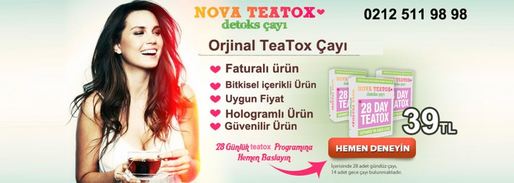 Nova Teatox Bitki Çayı