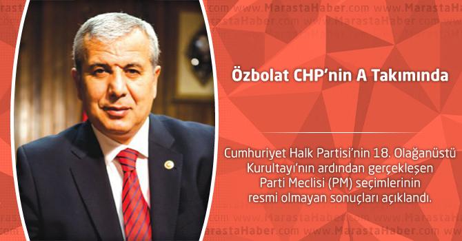 Özbolat CHP'nin A Takımında
