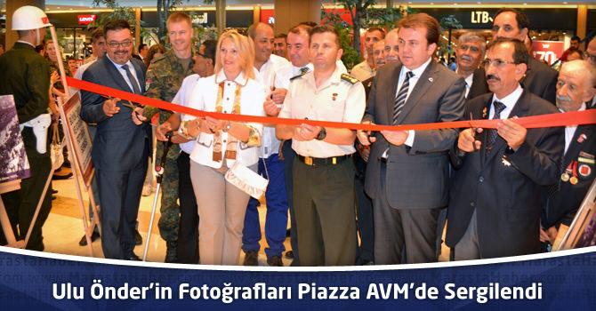 Ulu Önder'in Fotoğrafları Kahramanmaraş Piazza AVM'de Sergilendi