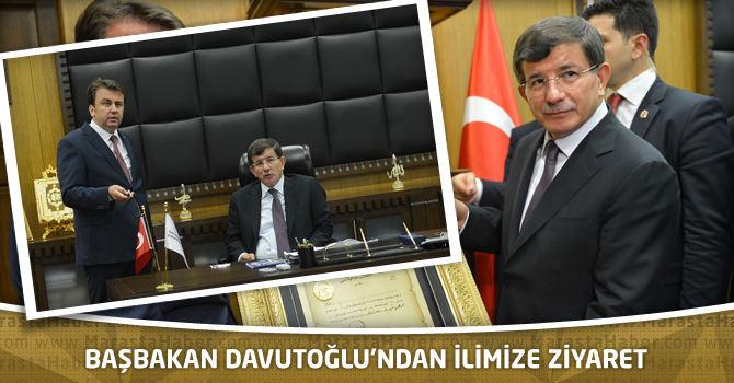 Başbakan Davutoğlu'ndan İlimize Ziyaret