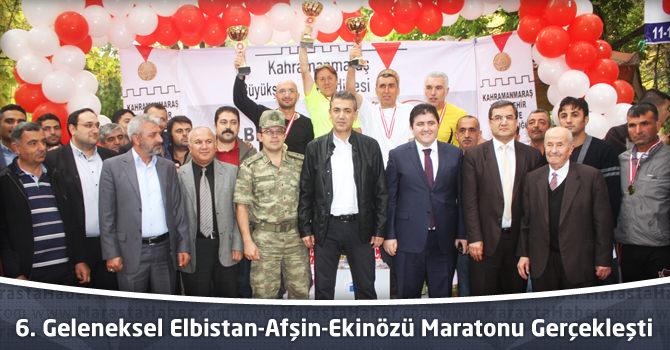 6. Geleneksel Elbistan-Afşin-Ekinözü Maratonu Gerçekleşti