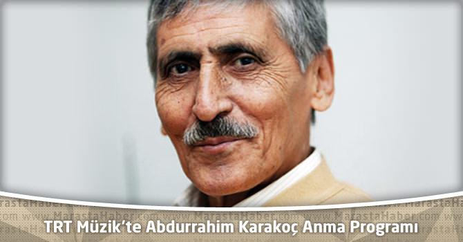 Abdurrahim Karakoç Anma Programı Manisa – TRT Müzik