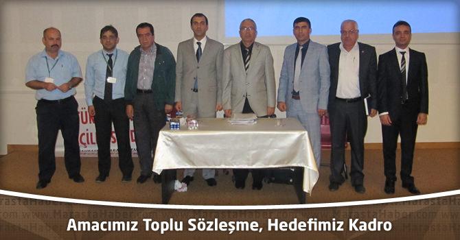Türkiye Sağlık İş Sendikası : Amacımız Toplu Sözleşme, Hedefimiz Kadro