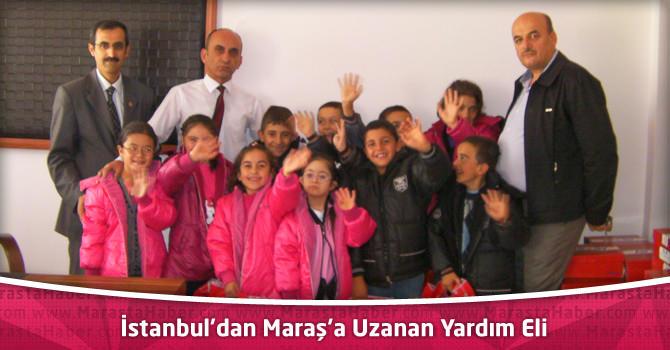 İstanbul'dan Maraş'a Uzanan Yardım Eli