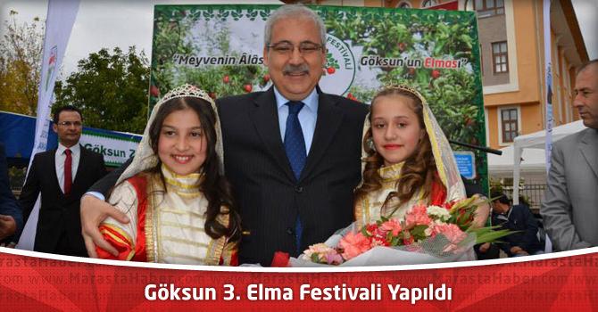 Göksun 3. Elma Festivali Yapıldı