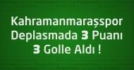 Gölbaşıspor 0 – Kahramanmaraşspor 3 Geniş maç özeti ve maçın golleri