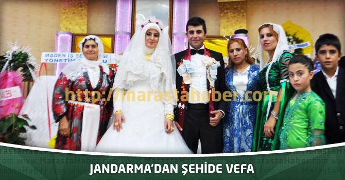 Jandarma'dan Şehide Vefa