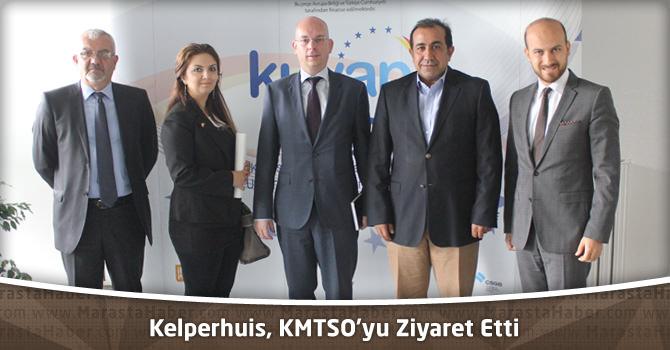 Hollanda Büyük Elçiliği Ekonomi Ateşesi Kelperhuis, KMTSO'yu Ziyaret Etti