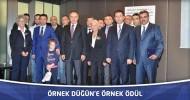Örnek Düğün, Türkiye çapında ödüle layık görüldü.