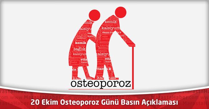 20 Ekim Osteoporoz Günü