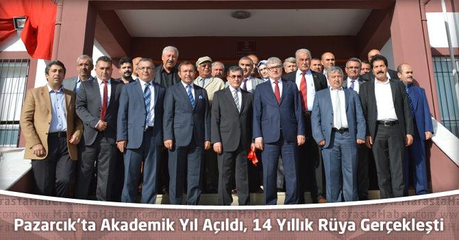 Pazarcık'ta Akademik Yıl Açıldı, 14 Yıllık Rüya Gerçekleşti