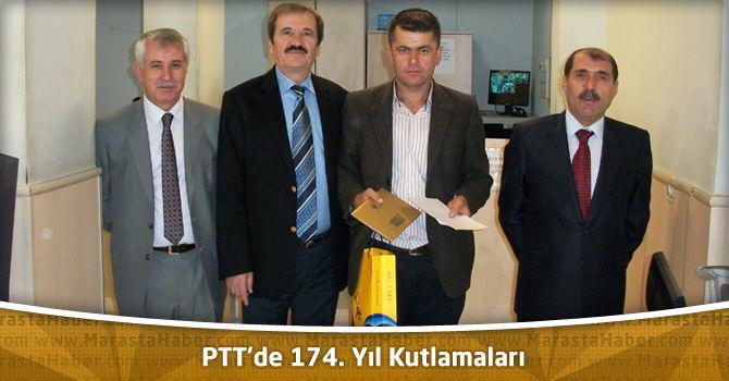 PTT'de 174. Yıl Kutlamaları