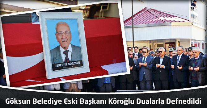 Göksun Belediye Eski Başkanı Köroğlu Dualarla Defnedildi