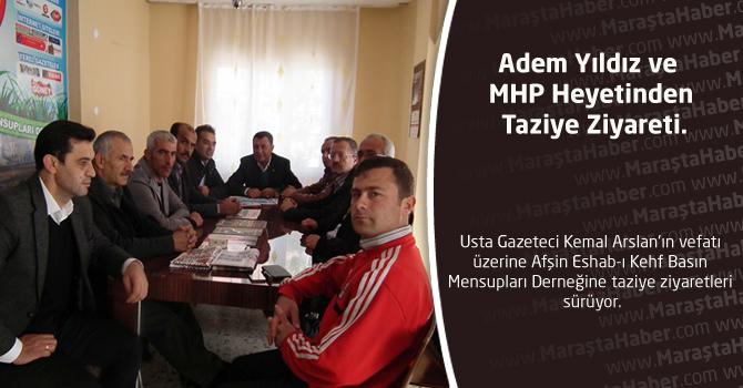 Adem Yıldız ve MHP Heyetinden Taziye Ziyareti.