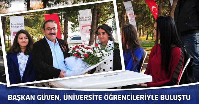 Başkan Güven, Üniversite Öğrencileriyle Buluştu