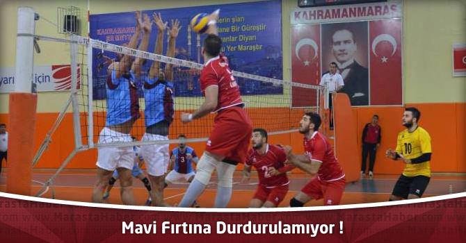 Mavi Fırtına Durdurulamıyor – Kahramanmaraş BBS 3 – Trabzonspor 2