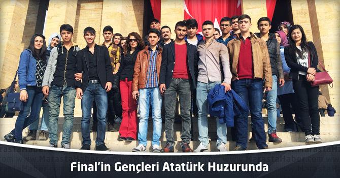 Final'in Gençleri Atatürk Huzurunda