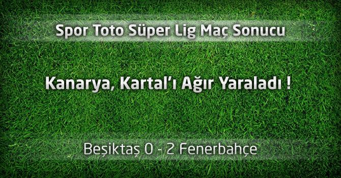 Beşiktaş 0 – Fenerbahçe 2 Geniş maç özeti ve maçın özeti