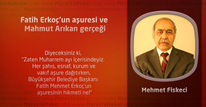 Fatih Erkoç'un aşuresi ve Mahmut Arıkan gerçeği
