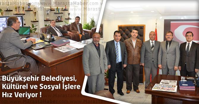 Kahramanmaraş Büyükşehir Belediyesi, Kültürel ve Sosyal İşlere Hız Veriyor
