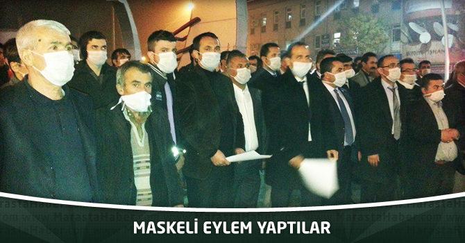 Maskeli Eylem Yaptılar