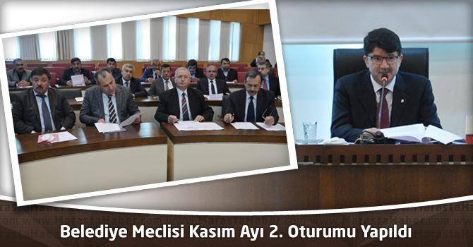 Kahrmanmaraş Büyükşehir Belediye Meclisi Kasım Ayı 2. Oturumu Yapıldı
