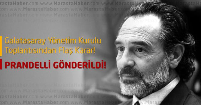 Galatasaray'da Son Dakika : Cesera Prandelli Gönderildi !