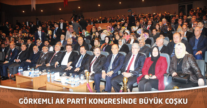 Görkemli Ak Parti kongresinde büyük coşku