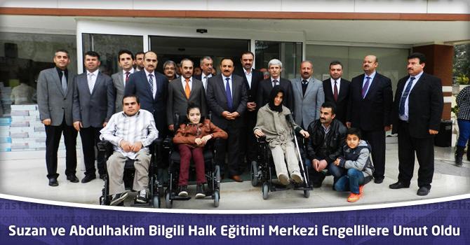Suzan ve Abdulhakim Bilgili Halk Eğitimi Merkezi Engellilere Umut Oldu