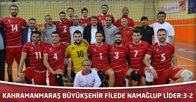 Kahramanmaraş Büyükşehir Filede Namağlup Lider:3-2