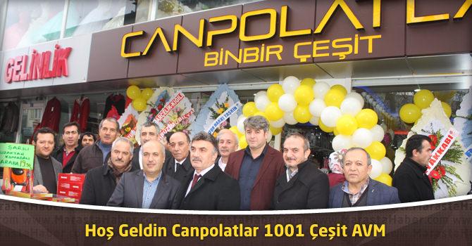 Hoş Geldin Canpolatlar 1001 Çeşit AVM