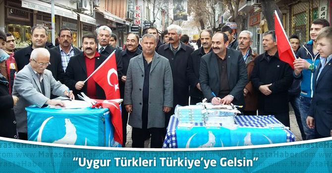 """Ülkü Ocakları Uydur Türklerine Sahip Çıktı """"Uygur Türkleri Türkiye'ye Gelsin"""""""