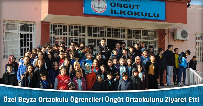 Özel Beyza Ortaokulu Öğrencileri Üngüt Ortaokulunu Ziyaret Etti