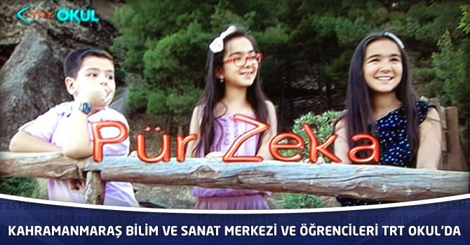 Kahramanmaraş Bilim Ve Sanat Merkezi Ve Öğrencileri TRT Okul'da